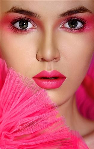 可爱创意妆面造型